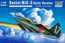 Trumpeter 02830 Soviet MiG-3 Early Version (1:48)