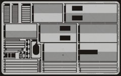 Eduard 35891 BR 52 w/ Steifrahmentender floor plate 1/35 Trumpeter