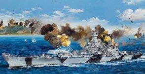 Trumpeter 03706 USS Iowa BB-61 (1:200)