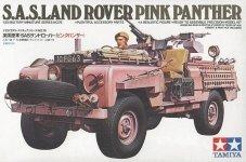 Tamiya 35076 British SAS Pink Panther Land Rover (1:35)
