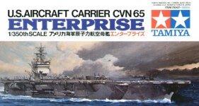 Tamiya 78007 U.S. Aircraft Carrier Enterprise (1:350)