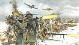 Italeri 6151 German Infantry (Winter uniform) (1:72)