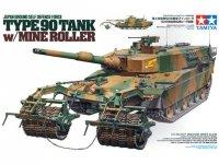 Tamiya 35236 JGSDF Type 90 Tank w/ Mine Roller (1:35)
