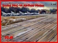 ICM 48231 Soviet PAG-14 Airfield Plates (1:48)