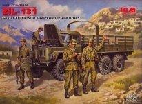 ICM 35516 ZIL-131 W/SOVIET Motorized Rifles (1:35)