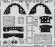 Eduard 33256 Sea Gladiator 1/32 ICM