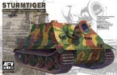 AFV Club 35103 Sturmtiger 3.8cm RW6-1 L/5.5 Assault Gun (1:35)