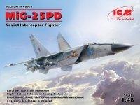ICM 48903 MiG-25 PD, Soviet Interceptor Fighter (1:48)