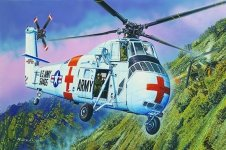 Trumpeter 02883 CH-34 US ARMY Rescue 1/48