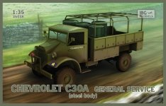IBG 35038 Chevrolet C30A General service (steel body) 1/35