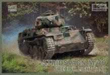 IBG 72034 Stridvagn M/39 Swedish Light Tank 1:72