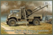 IBG 72032 Chevrolet C60S with Holmes breakdown 1/72