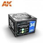 AK Interactive RCS034 LUFTWAFFE LATE WW2 COLORS 4x10ml