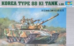 Trumpeter 00343 KOREA TYPE 88 K1 TANK (1:35)