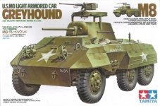 Tamiya 35228 U.S. M8 Light Armored Car Greyhound (1:35)