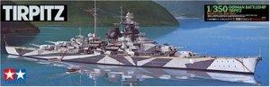 Tamiya 78015 German Battleship Tirpitz (1:350)