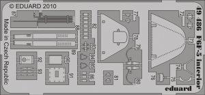 Eduard 49486 F6F-5 interior S. A. 1/48 Hobby Boss