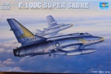 Trumpeter 02838 North American F-100C Super Sabre (1:48)