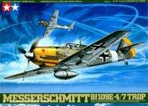 Tamiya 61063 Messerschmitt Bf109E-4/7 Trop (1:48)
