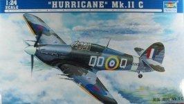 Trumpeter 02415 Hurricane Mk.ll C (1:24)