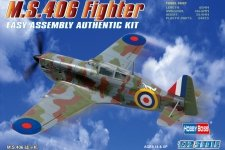 Hobby Boss 80235 French MS.406 Fighter (1:72)