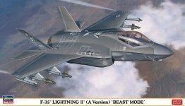 Hasegawa 02315 F-35 Lightning II (A Version) Beast Mode 1/72