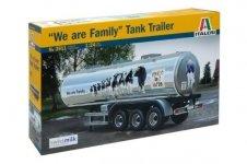 Italeri 3911 CLASSIC TANK TRAILER We are family