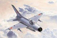 Trumpeter 02858 MiG-21 F-13/J-7 Fighter (1:48)