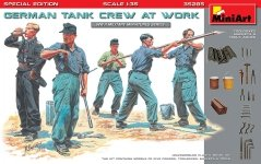 MiniArt 35285 GERMAN TANK CREW AT WORK. SPECIAL EDITION 1/35