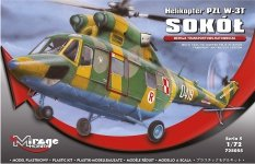 Mirage Hobby 725055 PZL W-3T Sokół  1/72
