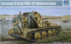 Trumpeter 05550 German 8.8cm PAK-43 Waffentrager (1:35)