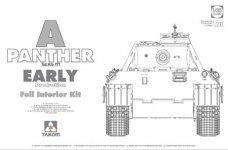 Takom 2097 Panther Ausf. A early prod. (full interior) 1/35