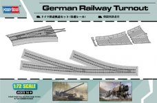 Hobby Boss 82909 German Railway Turnout (1:72)