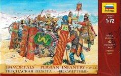 Zvezda 8006 Persian infantry ('Immortals') V-IV BC (1:72)