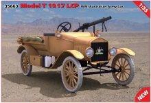 ICM 35663 Model T 1917 LCP WWI Australian Army Car 1/35