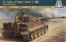 Italeri 6507 Pz.Kpfw.VI Tiger I Ausf.E mid production (1:35)