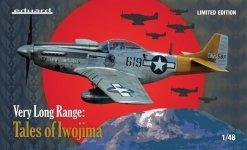 Eduard 11142 Very Long Range: Tales of Iwojima ( North American P-51 Mustang ) 1/48