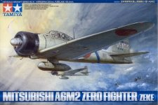 Tamiya 61016 A6M2 Type 21 Zero Fighter (ZEKE) (1:48)