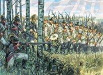 Italeri 6093 Austrian Infantry 1798 - 1805