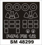 Montex SM48299 F4F-4,FM-1,FM-2 Wildcat HOBBY BOSS