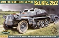 ACE 72238 Sd.Kfz.252 armoured amunitions carrier (1:72)