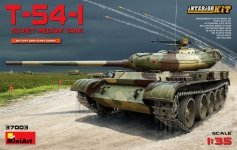MiniArt 37003 T-54-1 SOVIET MEDIUM TANK. Interior kit 1/35