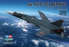 Hobby Boss 80211 Sukhoi SU-47 Berkut (1:72)