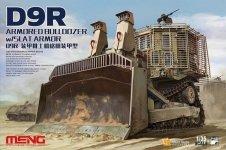 Meng Model SS-010 D9R Armored Bulldozer w/Slat Armor