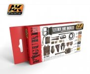 AK Interactive AK 3030 Leather and Buckles