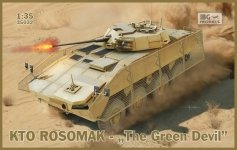IBG 35032 KTO Rosomak Polish APC The Green Devil 1/35