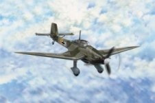 Hobby Boss 80286 Junkers Ju 87D-3 Stuka (1:72)