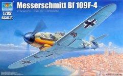 Trumpeter 02292 Messerschmitt Bf 109F-4 (1:32)