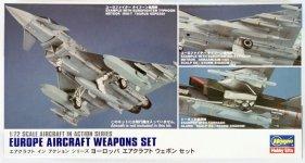 Hasegawa X72-15 Europe Aircraft Weapon Set (1:72)