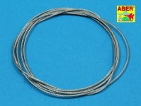 Aber TCS09 Stainless Steel Towing Cables 0,9mm, 1m long